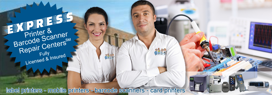EXPRESS Printer & Barcode Scanner Repair Centers℠