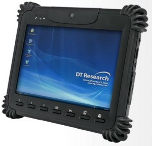 print remotely with rugged tablet
