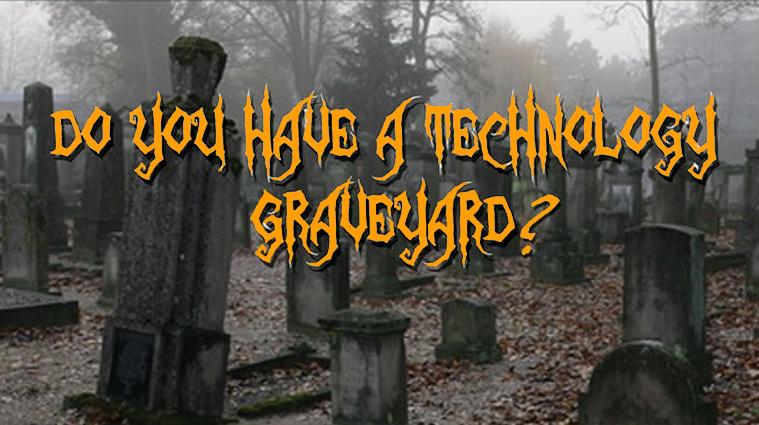 barcode scanner graveyard banner