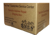 Barcode Scanner Repair Shipping Box