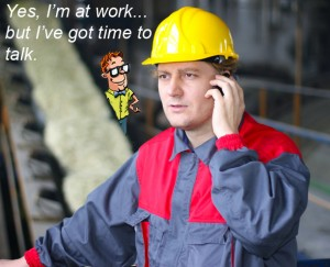 cell phone workplace monitoring